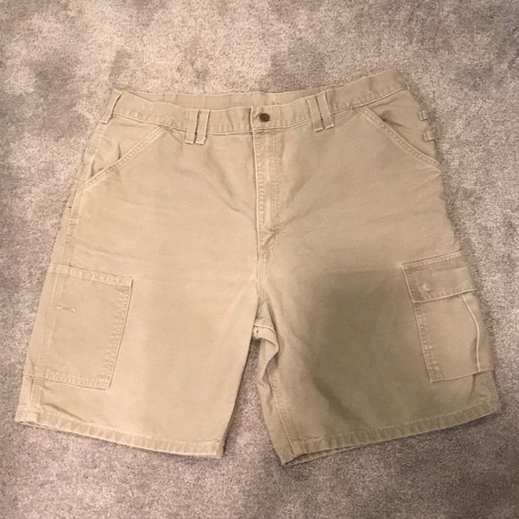 2d0b021784 Carhartt Shorts | Mens Khaki Cargo | Poshmark